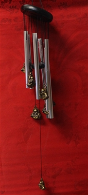 Multiple Buddha wind chimes MF106