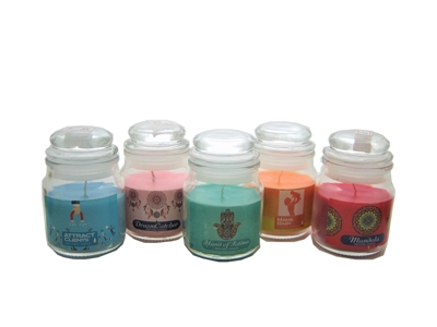 Mini Perfumed Candles in Small Jar [select fragrance]