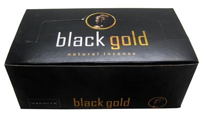 Nandita Black Gold Incense Sticks 15 Grams (12/Box)