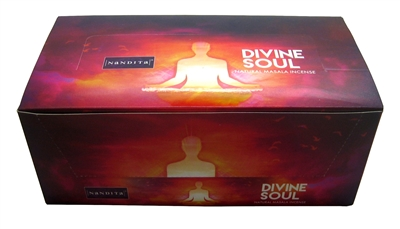 Nandita Divine Soul Incense Sticks 15 Grams (12/Box)