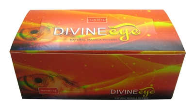 Nandita Divine Eye Incense Sticks 15 Grams (12/Box)