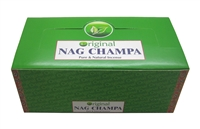 Nandita Original Nag Champa Incense Sticks 15 Grams (12/Box)