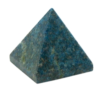 Blue Quartz Pyramid 1""