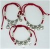 Adjustable Red Bracelet - (Dozen)