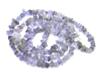 Rough Stone Necklace (smooth Amethyst)