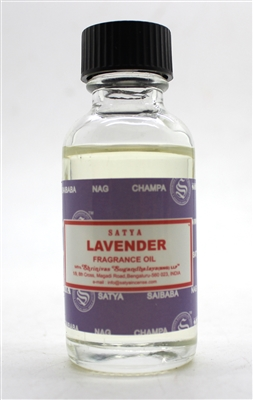 Satya Fragrance Oils - Lavender - 30 mL Bottle (BNG) - Single