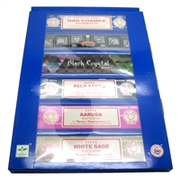 Satya Variety Pack 6 Incense Sticks