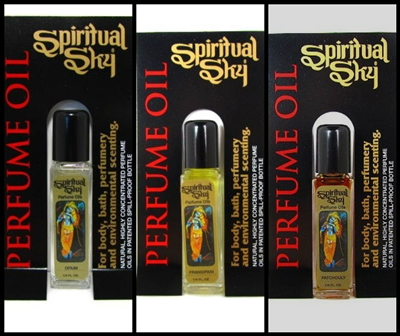 Spiritual Sky Oils (Carded Display) - 1/4 OZ