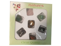Set of 7 Assorted Stones - Tumbled (Nature ​Healing Crystal)