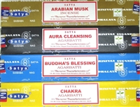 Satya Netherlands Exclusive Series - (12 Boxes of 15 g)