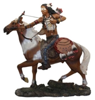 Indian Warrior on Horse