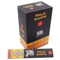 Tribal Soul - PALO SANTO - Incense Smudge Sticks (Box of 12 Packs)