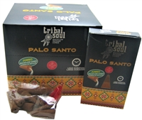 [Backflow] Tribal Soul - PALO SANTO - Jumbo Backflow Dhoop Cones (Box of 12 Packs x 10 cones each)
