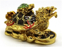Old Dragon Turtle Feng Shui Trinket Box
