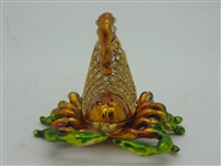 Scorpion Bejeweled Trinket Box