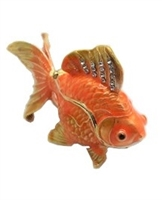 "Goldfish w/ jewels 2.5"" trinket. TRNK-2970"