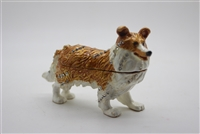 "Dog \ wolf Trinket Box 3"" (Select Color) TRNK-3210"