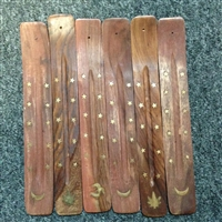 Wooden Ash Catcher - Incense Burner 10in wholesale