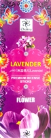 Chakra - Lavender Incense Sticks (Box of 6 packs of 20 sticks)