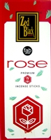 Chakra - Rose Incense Sticks (Box of 6 packs of 20 sticks)