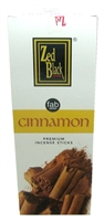 Zed Black - Cinnamon Incense Sticks (Box of 6 packs of 20 sticks)