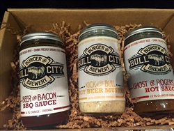 Bull City Burger & Brewery Southern Sauces Gift Box