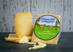 Chapel Hill Creamery: Hickory Grove Natural Rind Hard Cheese ~ 1/2 lb