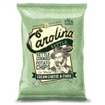 Potato Chips, Cream Cheese and Chive Chips ~ 5oz bag