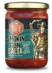 Rustic Roots Smokin Gun Style Salsa ~ 16oz jar