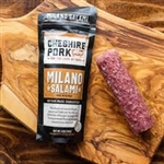 Cheshire Farms Pork Milano Salami Sausage ~ 6oz