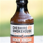 Cheshire Farms Kickin Vinegar Barbeque Sauce ~ 19 oz