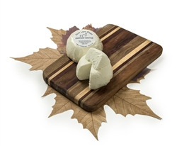 Smokey mountain round cheese, farmhouse cheese, goat lady, goat cheese, invented cheeses, home delivery, shipping