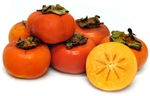 Persimmons, Fuyo Variety ~ 2 count