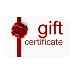 Gift Certificate ~ Choose the Amount
