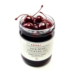 Jack Rudy Bourbon Cocktail Cherries ~ 16oz glass jar