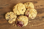 La Farm Scones, Blueberry & Raspberry, 1 per serving