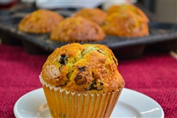 Muffins, Blueberry ~ Mega-size (3/pack)