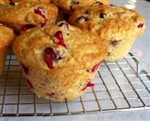 Muffins, Cranberry Orange ~ Mega-size (bag of 3)