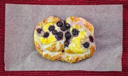 Danish, Blueberry Cream Cheese (bag of 3)