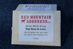 Soap, Red Mountain Goodness Bay Rum & Lime Goat Milk Soap - 5oz bar