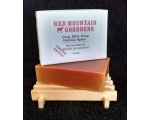 Soap, Red Mountain Goodness Holiday Spice Goat Milk Soap - 5oz bar