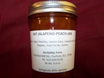 Jam, Hot Jalapeno Peach - 8oz