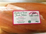 fresh trout filet, home delivery, raleigh, durham, chapel hill, cary, sunburst trout