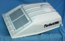TurboKool 2B-0209R Outer cover hood with intake grill. UV protected.