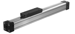 "32mm (1.260"") Bore Rodless Air Cylinder Slide, 1200mm (47.244"") Stroke"