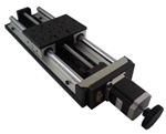 Motorized Linear Stage, load capacity 30 kg, travel 100 mm