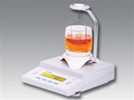 Electronic Density Balance, capacity 400g, readability 0.01 g