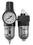 "Filter Regulator Lubricator (FRL),  -   1/4"" Port Size Bracket - longer case and no case guard"