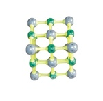 Model of NACL Crystal Structure