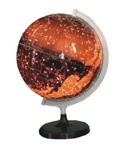 Illuminated Astronomy Globe